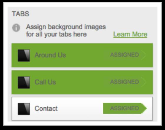 Assign Slider image