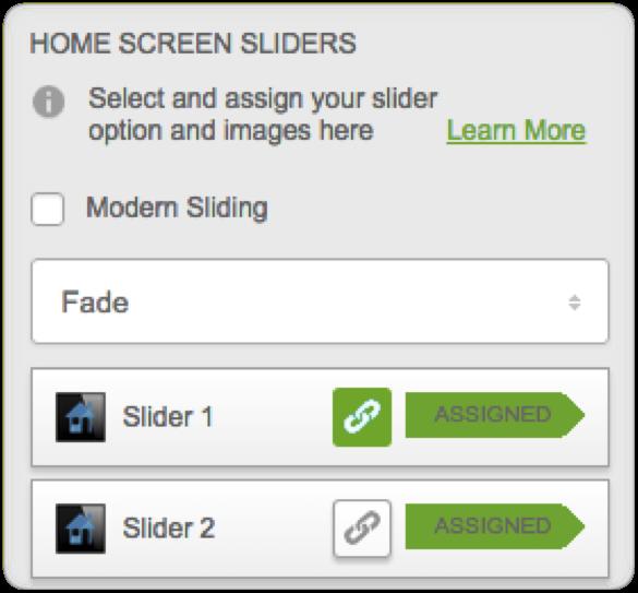 Delete Slider Link